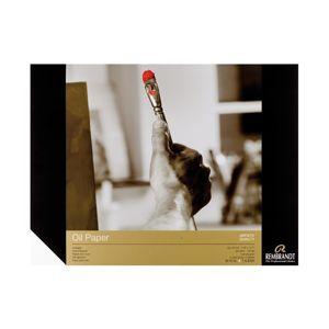 Výtvarný blok pro olejové barvy rembrandt / 10 listů