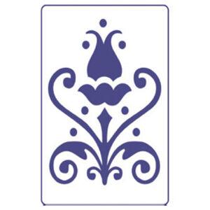 Šablona PENTART A5 - Květiny S18