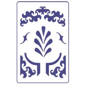 Šablona PENTART A5 - Ornamenty S1