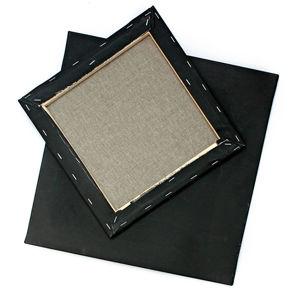 Černé malířské plátno na rámu PROFI / různé rozměry