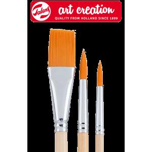 Štětce ArtCreation pro akvarelové malbu - 3 dílná sada