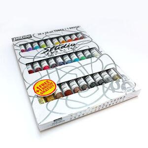Akrylové barvy Studio Acrylic START