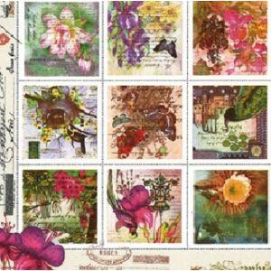 Ubrousky na DEKUPÁŽ - Vintage Stamps - 1 ks