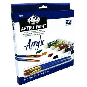 Akrylové barvy Acrylic Paint 18x12ml