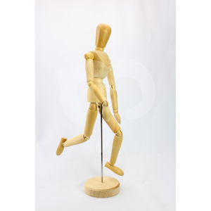 Dřevěný model lidského těla