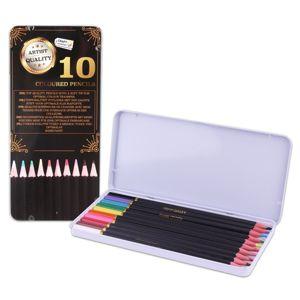 Barevné tužky Craft Sensations - 10 ks (barvičky v plechové krabičce)