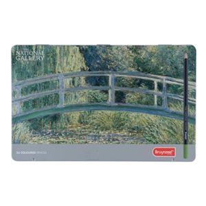 Barevné tužky z limitované edice Claude Monet / 36 ks (barvičky na)