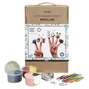 Modelovací sada DIY - prstové loutky (kreativní set)