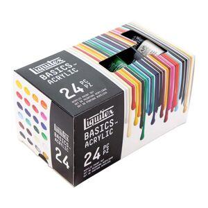 Sada akrylových barev Liquitex Basics - 24x22 ml (akrylové barvy)
