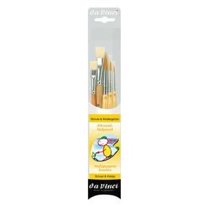 Sada štětců da Vinci JUNIOR 4211 pro školy a hobby - 5 ks (štětce pro)