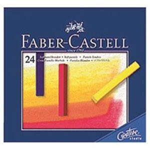 Suchý pastel Gofa set 24 barevný mini (Faber Castel - Suchý pastel)
